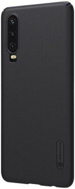 black case chehol frosted huawei nakladka nillkin p30 shield super