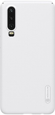 case chehol frosted huawei nakladka nillkin p30 shield super white