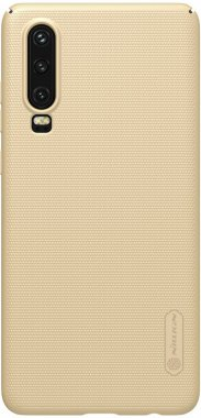 case chehol frosted gold huawei nakladka nillkin p30 shield super