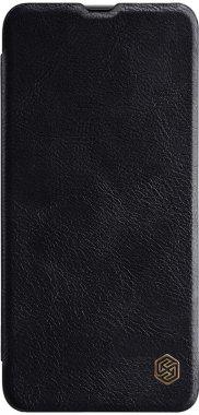 black case chehol galaxy knizhka leather nillkin qina70 samsung