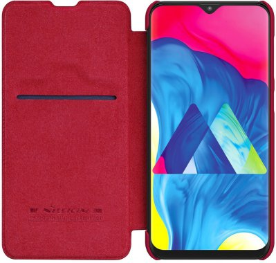 case chehol galaxy knizhka leather nillkin qinm10red samsung