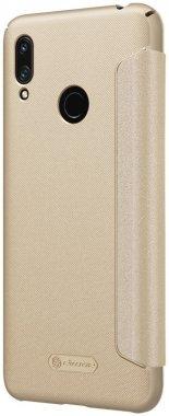 2019 case chehol gold huawei knizhka leather nillkin prime sparkle y7