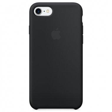 Чехол Apple iPhone 7/8 Silicone Case Black (MMW82)