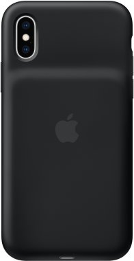 Чехол-аккумулятор Apple iPhone X/XS Smart Battery Case Black (MRXK2)