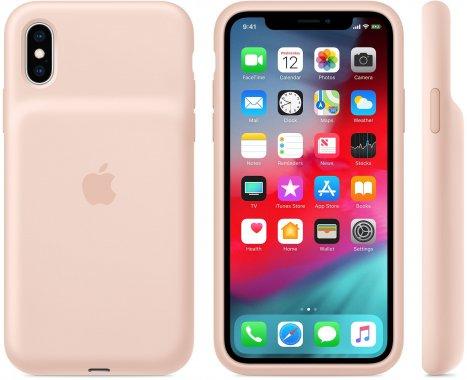 Чехол-аккумулятор Apple iPhone X/XS Smart Battery Case Pink Sand (MVQP2)