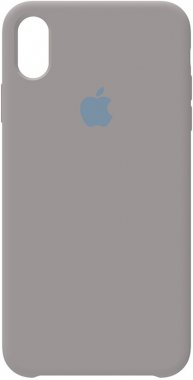 apple case chehol grey iphone nakladka pebble silicone xs