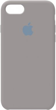 78 apple case chehol grey iphone nakladka pebble silicone