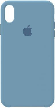 apple azusa blue case chehol iphone nakladka silicone xsmax
