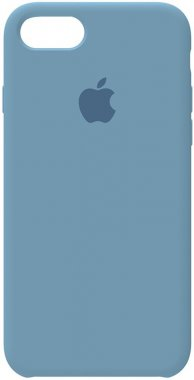 78 apple azusa blue case chehol iphone nakladka silicone