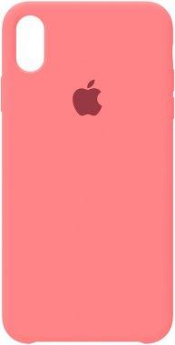apple case chehol iphone light nakladka silicone xsmaxred