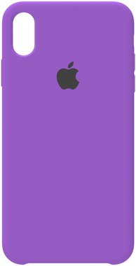 apple case chehol iphone nakladka purple silicone xsmax