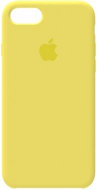 78 apple case chehol iphone lemon nakladka silicone yellow