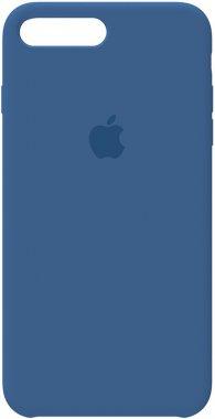 7 apple blue case chehol iphone nakladka plus plus8 silicone vivid