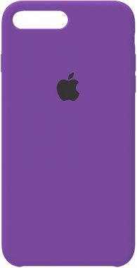 7 apple case chehol iphone nakladka plus plus8 purple silicone