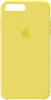7 apple case chehol iphone lemon nakladka plus plus8 silicone yellow