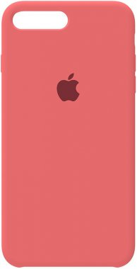 7 apple case chehol iphone nakladka peach pink plus plus8 silicone