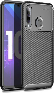 2019 black carbon case chehol fiber huawei ipaky nakladka seriessoft smartplus tpup