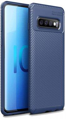 blue carbon case chehol fiber galaxy ipaky nakladka samsung seriessoft tpus10