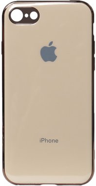 apple case chehol electroplate gold iphone nakladka toto tpu66s
