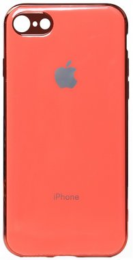 apple case chehol electroplate iphone nakladka pink toto tpu66s