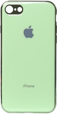 apple case chehol electroplate green iphone nakladka toto tpu66s