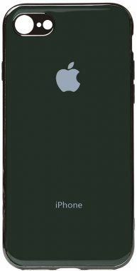 apple case chehol electroplate green iphone nakladka olive toto tpu66s