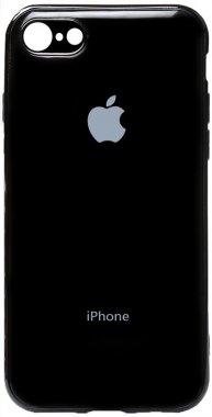 apple black case chehol electroplate iphone nakladka toto tpu78