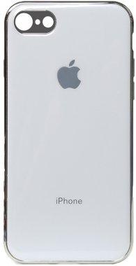 apple case chehol electroplate iphone nakladka toto tpu78 white