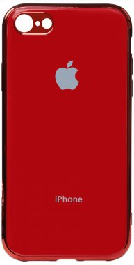 apple case chehol electroplate iphone nakladka toto tpu78red