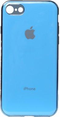 apple blue case chehol electroplate iphone nakladka toto tpu78