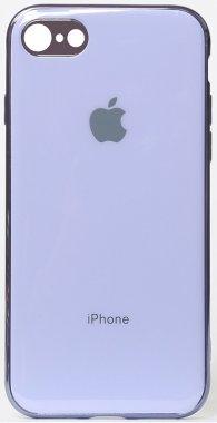 apple case chehol electroplate iphone nakladka purple toto tpu78