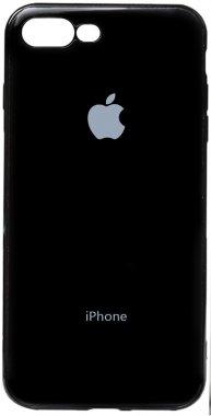 apple black case chehol electroplate iphone nakladka plus plus8 toto tpu7