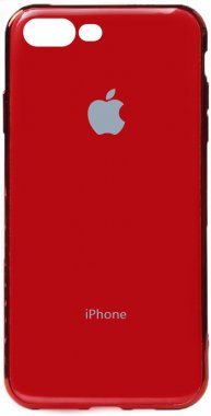 apple case chehol electroplate iphone nakladka plus plus8 toto tpu7red