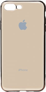 apple case chehol electroplate gold iphone nakladka plus plus8 toto tpu7