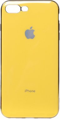 apple case chehol electroplate iphone nakladka plus plus8 toto tpu7 yellow