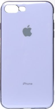 apple case chehol electroplate iphone nakladka plus plus8 purple toto tpu7