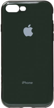 apple case chehol electroplate green iphone nakladka olive plus plus8 toto tpu7