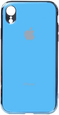 apple blue case chehol electroplate iphone nakladka toto tpuxr