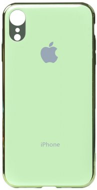 apple case chehol electroplate green iphone nakladka toto tpuxr