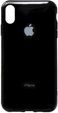 apple black case chehol electroplate iphone nakladka toto tpuxsmax