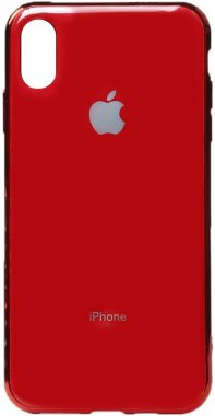 apple case chehol electroplate iphone nakladka toto tpuxsmaxred