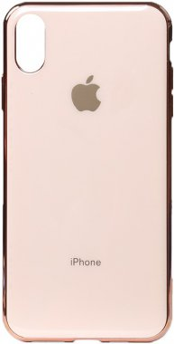 apple case chehol electroplate gold iphone nakladka rose toto tpuxsmax