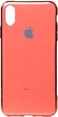 apple case chehol electroplate iphone nakladka pink toto tpuxsmax