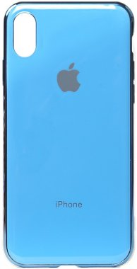 apple blue case chehol electroplate iphone nakladka toto tpuxsmax