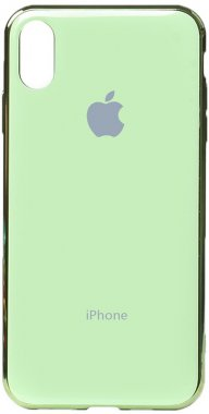 apple case chehol electroplate green iphone nakladka toto tpuxsmax