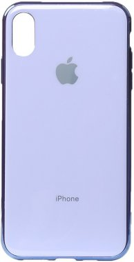 apple case chehol electroplate iphone nakladka purple toto tpuxsmax