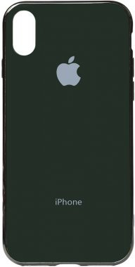 apple case chehol electroplate green iphone nakladka olive toto tpuxsmax