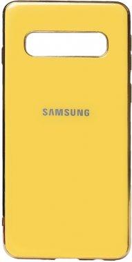 case chehol electroplate galaxy nakladka samsung toto tpus10 yellow