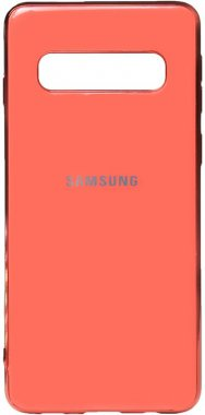 case chehol electroplate galaxy nakladka pink s10plus samsung toto tpu