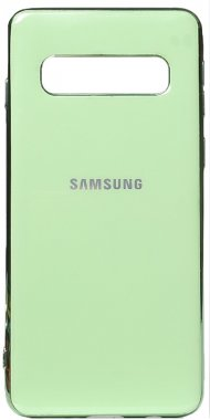 case chehol electroplate galaxy green nakladka s10plus samsung toto tpu